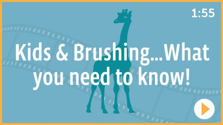 Kids & Brushing…what you need to know (for #brushing)