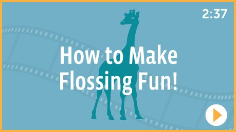 How to make flossing fun (for #flossing)