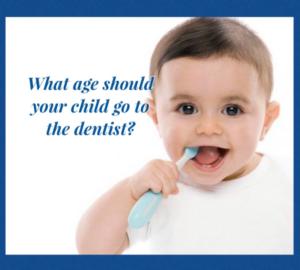 1st Dental Visit at Age 1